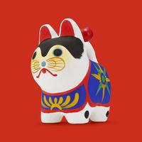 張子犬 10610003856| 写真素材・ストックフォト・画像・イラスト素材|アマナイメージズ