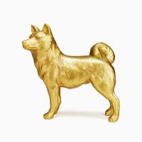 戌(イヌ)の置物 10610003859| 写真素材・ストックフォト・画像・イラスト素材|アマナイメージズ