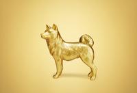 戌(イヌ)の置物 10610003860| 写真素材・ストックフォト・画像・イラスト素材|アマナイメージズ