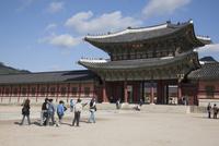 景福宮(キョンボックン)の興礼門 10616001063| 写真素材・ストックフォト・画像・イラスト素材|アマナイメージズ