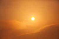ナガルコットよりヒマラヤ連峰日の出