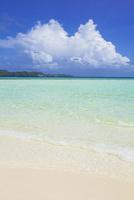 ロック・アイランドのオモカン島(ロングビーチ)