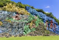 ビニャーレス渓谷の古代壁画