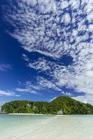 ロック・アイランドのサンゴ礁の海