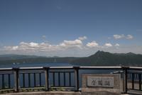 摩周湖第一展望台より望む夏の摩周湖