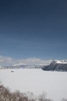 全面結氷の摩周湖