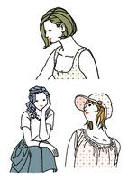 生活を楽しむ私服の女性 10653000012| 写真素材・ストックフォト・画像・イラスト素材|アマナイメージズ