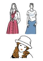 生活を楽しむ私服の女性 10653000013| 写真素材・ストックフォト・画像・イラスト素材|アマナイメージズ