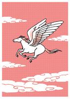 空を走る天馬 10653000015| 写真素材・ストックフォト・画像・イラスト素材|アマナイメージズ