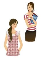 生活を楽しむ私服の女性 10653000017| 写真素材・ストックフォト・画像・イラスト素材|アマナイメージズ