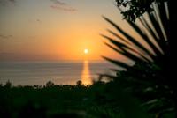 南の島の夕焼け