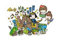 仙台観光をする女性2人 10663000010| 写真素材・ストックフォト・画像・イラスト素材|アマナイメージズ