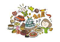 名古屋観光をする女性1人 10663000016| 写真素材・ストックフォト・画像・イラスト素材|アマナイメージズ