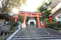 神奈川県,江の島の江島神社 10669001913| 写真素材・ストックフォト・画像・イラスト素材|アマナイメージズ
