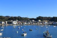 佐島漁港 10669002051| 写真素材・ストックフォト・画像・イラスト素材|アマナイメージズ