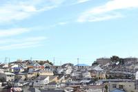 川崎市多摩区の住宅街 10669002228| 写真素材・ストックフォト・画像・イラスト素材|アマナイメージズ