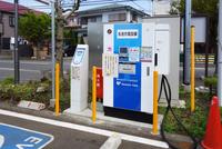 電気自動車の急速充電器