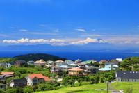 湘南国際村からの富士山