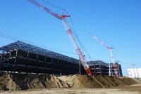神奈川県 建設中の大型倉庫