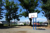横浜市 日影山公園のバスケットゴール