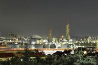 横浜市磯子区のコンビナート