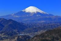 神奈川県松田山から望む富士山 10669004865| 写真素材・ストックフォト・画像・イラスト素材|アマナイメージズ