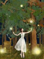 森の中の踊り子