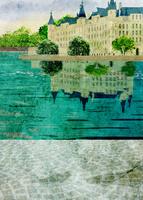 湖上の城 10672000009| 写真素材・ストックフォト・画像・イラスト素材|アマナイメージズ
