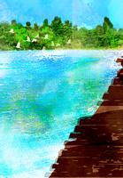 湖 10672000083| 写真素材・ストックフォト・画像・イラスト素材|アマナイメージズ