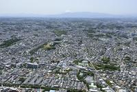 妙蓮寺駅空撮 東側より富士山方面へ