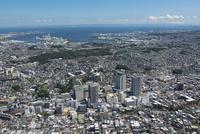 上大岡駅空撮 北西側より磯子方面を望む
