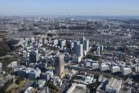 東戸塚駅空撮 南西側より横浜方面へ