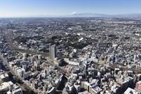 鶴見駅,京急鶴見駅 北東側より総持寺・新横浜・富士山方面へ