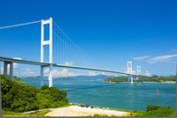 しまなみ海道来島海峡大橋 10685000213| 写真素材・ストックフォト・画像・イラスト素材|アマナイメージズ