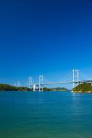 しまなみ海道の来島海峡大橋 10685000253| 写真素材・ストックフォト・画像・イラスト素材|アマナイメージズ