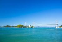 しまなみ海道の来島海峡大橋 10685000255| 写真素材・ストックフォト・画像・イラスト素材|アマナイメージズ