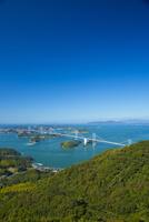 しまなみ海道の来島海峡大橋 10685000257| 写真素材・ストックフォト・画像・イラスト素材|アマナイメージズ
