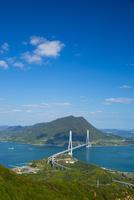 しまなみ海道の多々羅大橋 10685000322| 写真素材・ストックフォト・画像・イラスト素材|アマナイメージズ