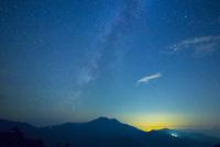 星空の石鎚山