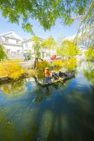 倉敷美観地区の町並み 10685001113| 写真素材・ストックフォト・画像・イラスト素材|アマナイメージズ
