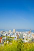 比治山公園より広島市 10685002552| 写真素材・ストックフォト・画像・イラスト素材|アマナイメージズ