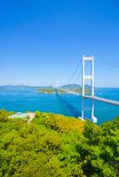 しまなみ海の道来島海峡大橋 10685002719| 写真素材・ストックフォト・画像・イラスト素材|アマナイメージズ