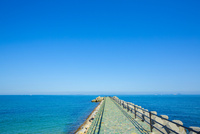 瀬戸内海の波止場