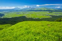阿蘇大観峰より阿蘇山