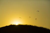 阿蘇大観峰のパラグライダー