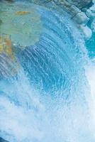 中津渓谷の綺麗な水