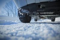 雪道の路面とタイヤ