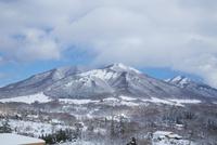 雪の蒜山高原