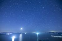 尾道向島より瀬戸内海 満天の星