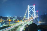 和布刈公園より関門橋の夜景